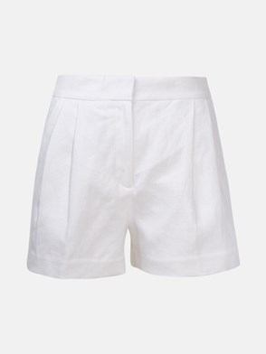 MICHAEL MICHAEL KORS - WHITE SHORTS