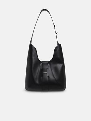 HOGAN - BLACK HOBO BAG