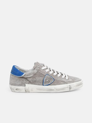 PHILIPPE MODEL - SNEAKER PARIS GRIGIA