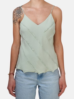 MAX MARA - TOP CARPA VERDE