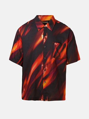 ARIES - MULTICOLOR FYRE HAWAI SHIRT