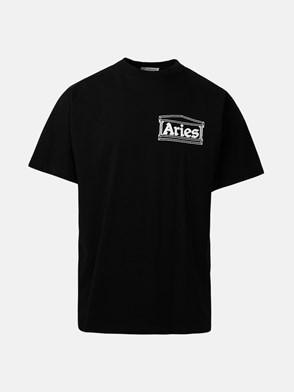ARIES - BLACK SS TEE SKATE T-SHIRT