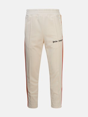 PALM ANGELS - PANTALONI RAIMBOW SLIM BIANCO