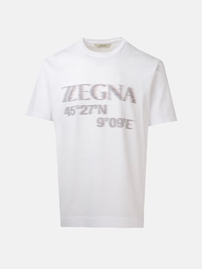 Z ZEGNA - WHITE T-SHIRT