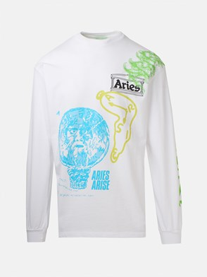 ARIES - WHITE FRENCH MONSIEUR SWEATER