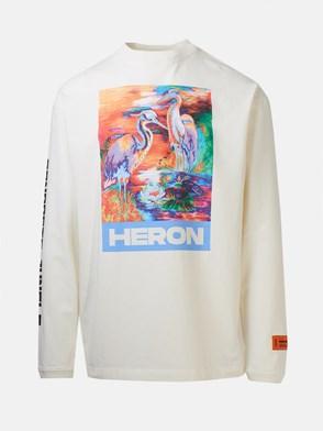 HERON PRESTON - WHITE SWEATER