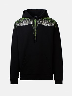 MARCELO BURLON COUNTY OF MILAN - BLACK SWEATSHIRT