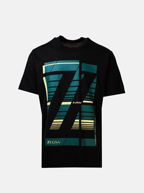 Z ZEGNA - BLACK T-SHIRT