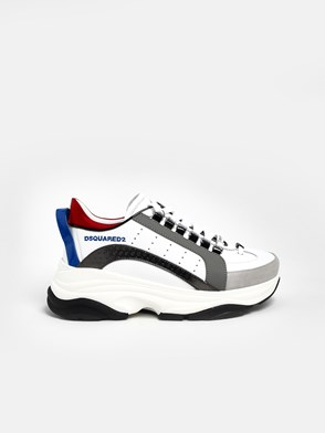 DSQUARED2 - WHITE BUMPJ 551 SNEAKERS
