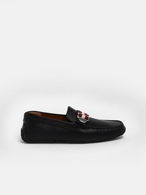 BALLY - BLACK PIXIO 320 LOAFERS