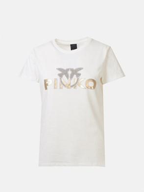 PINKO - WHITE NOELLE T-SHIRT