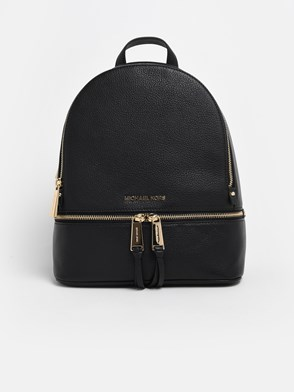 MICHAEL MICHAEL KORS - BLACK RHEA BACKPACK