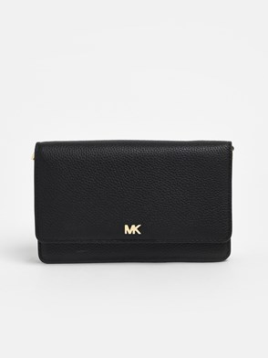 MICHAEL MICHAEL KORS - BLACK SMARTPHONE HOLDER