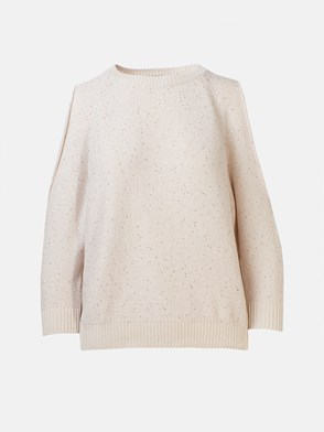 Peserico - BEIGE SWEATER