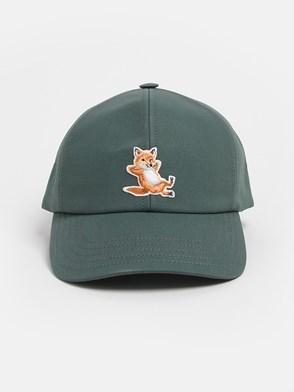 MAISON KITSUNE' - GREEN HAT