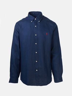 POLO RALPH LAUREN - BLUE DYE LINE SHIRT