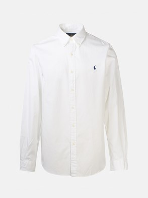 POLO RALPH LAUREN - WHITE CHINO SHIRT