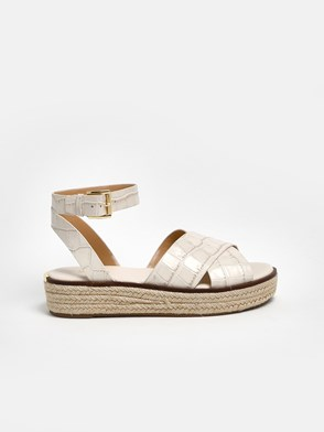MICHAEL MICHAEL KORS - CREAM SANDALS