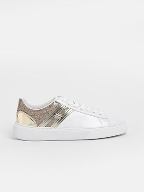 HOGAN - SNEAKERS H365  H ORO BIANCHE
