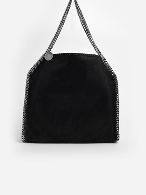 STELLA McCARTNEY - BORSA SMALL TOTE FALABELLA 2 CATENE NERA