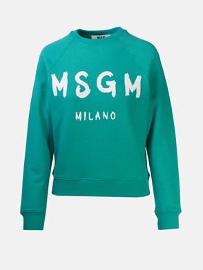 MSGM - GREEN SWEATSHIRT