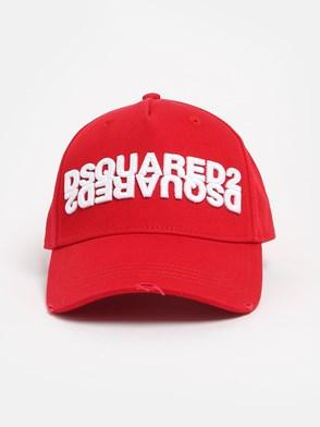 DSQUARED2 - CAPPELLINO ROSSO