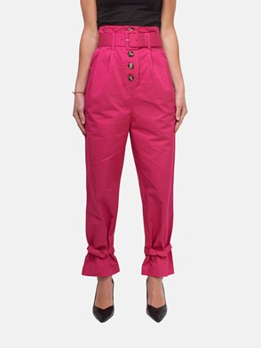 SELF PORTRAIT - PANTALONE FUCSIA