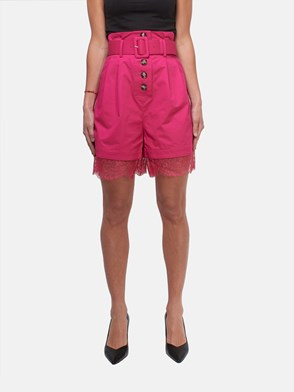 SELF PORTRAIT - SHORTS FUCSIA
