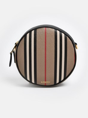 BURBERRY - STRIPED LOUISE CROSSBODY BAG