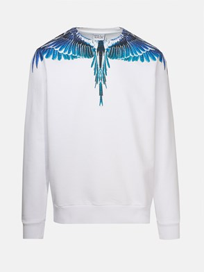 MARCELO BURLON COUNTY OF MILAN - WHITE SWEATSHIRT