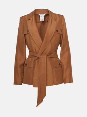 MAX MARA - JACKET WITH PALMS