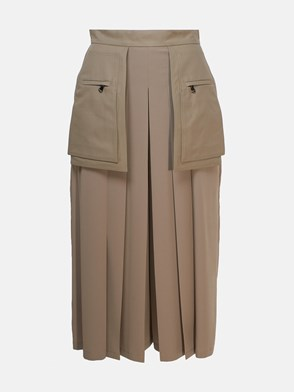 MAX MARA - GONNA PANTALONE FOX GRIGIA