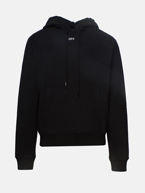 OFF WHITE - BLACK STENCIL SWEATSHIRT