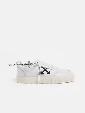 OFF WHITE - SNEAKERS LOW VULC. PELLE BIANC