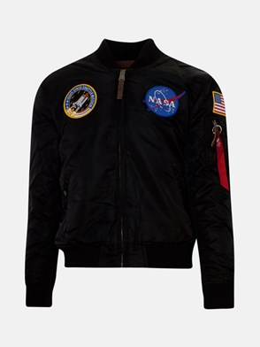ALPHA INDUSTRIES - BOMBER NASA NERO