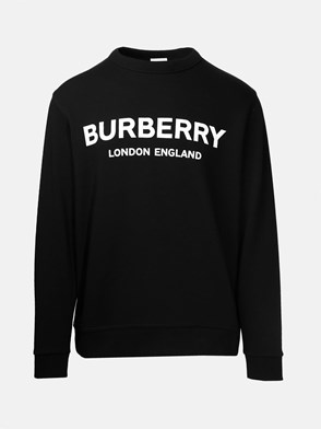 BURBERRY - FELPA LANSLOW LOGO NERA