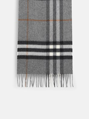 BURBERRY - GREY CHECK SCARF