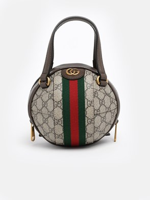 GUCCI - GG SUPREME WEB SPHERE BAG