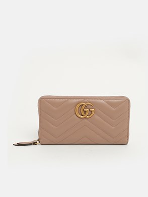 GUCCI - POWDER PINK MARMONT WALLET