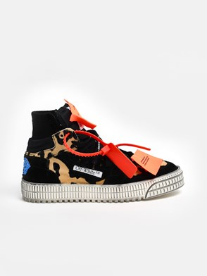 OFF WHITE - SNEAKER PONY 3.0 CAMOUFLAGE E NERE