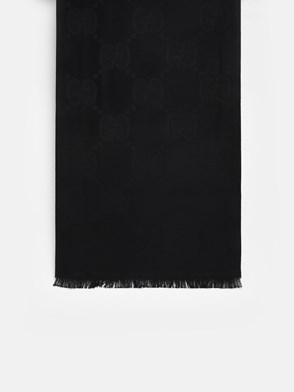 GUCCI - BLACK LADY NEST SCARF