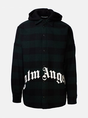 PALM ANGELS - GREEN CHECK JACKET
