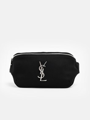 SAINT LAURENT - MARSUPIO LOGO NERO