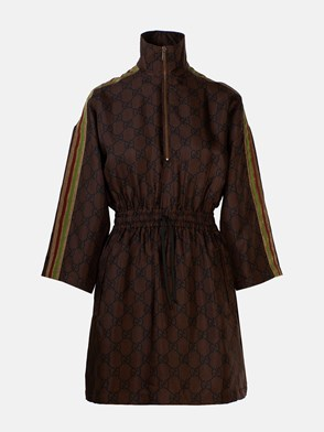 GUCCI - BROWN GG DRESS
