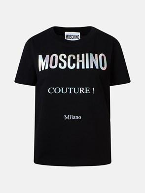 MOSCHINO - T-SHIRT NERA