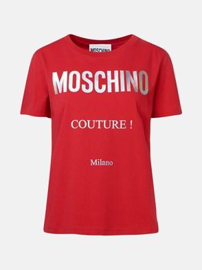 MOSCHINO - T-SHIRT ROSSA