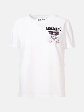 MOSCHINO - T-SHIRT BIANCA