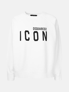 DSQUARED2 - FELPA ICON BIANCA