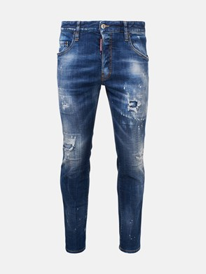 DSQUARED2 - JEANS SKATER HOLY BLU