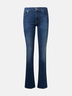 7 FOR ALL MANKIND - JEANS BOOTCUT BLU